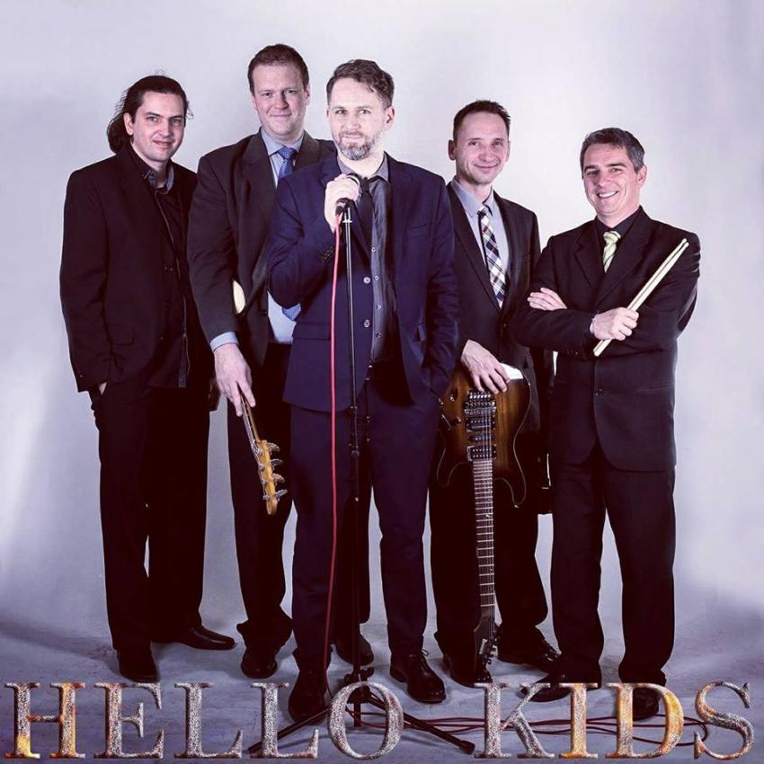 Borhétvége - buli a HelloKids zenekarral
