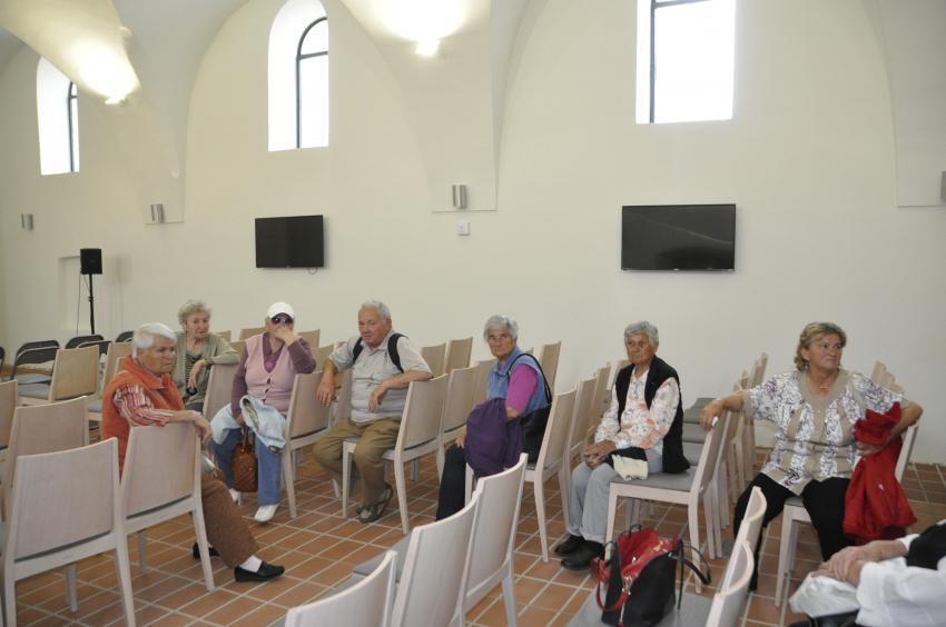Kiránduláson a nyugdíjas klub