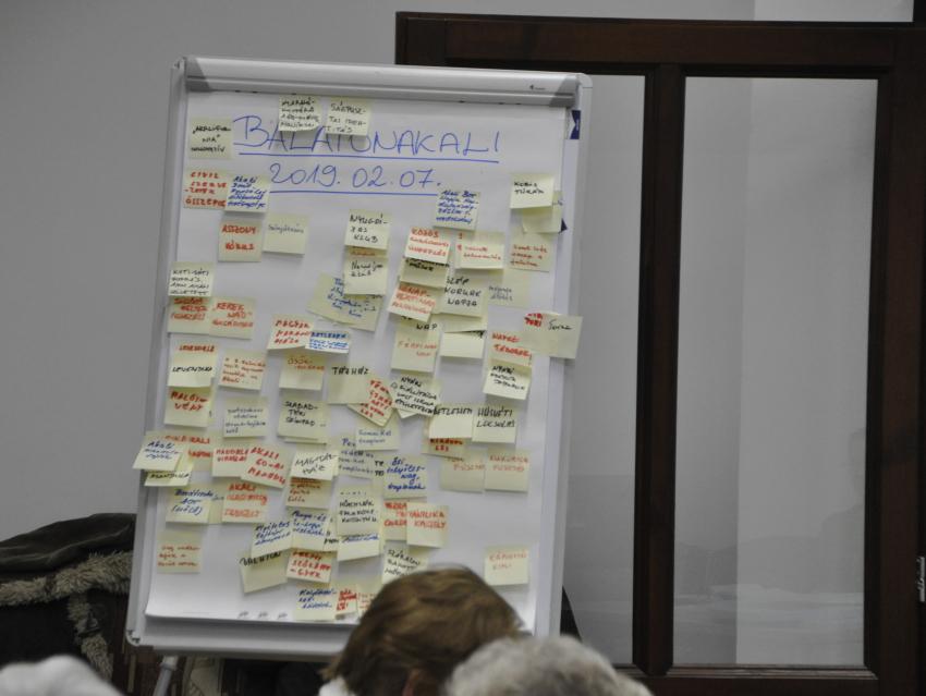 Képes beszámoló az Értéktár-ötletelésről