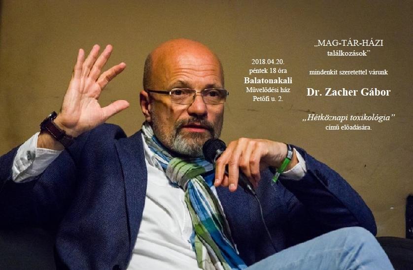 Találkozás Dr. Zacher Gáborral
